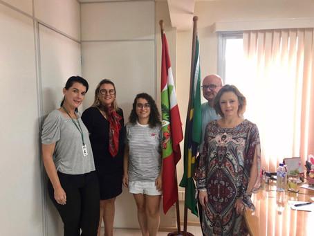 Reunião entre a Secretária do estado Maria Elisa de Caro e o SPM marca parceria