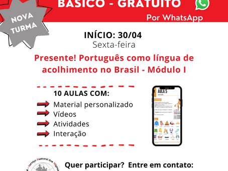 SPM SC abre nova chamada para curso de português básico online