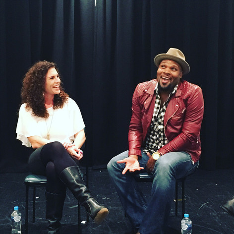 Jodie Langel with Michael James Scott