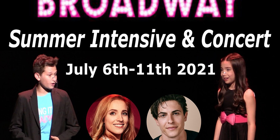 Making It On Broadway Summer Intensive