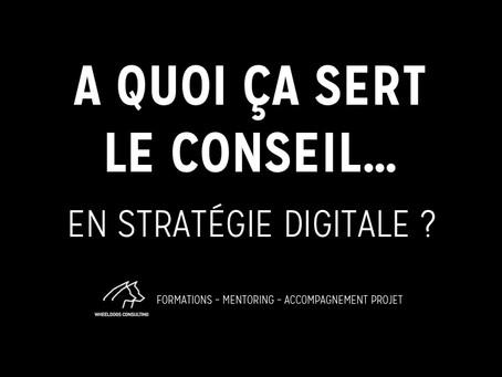 A quoi ça sert le Conseil... en Stratégie Digitale ?