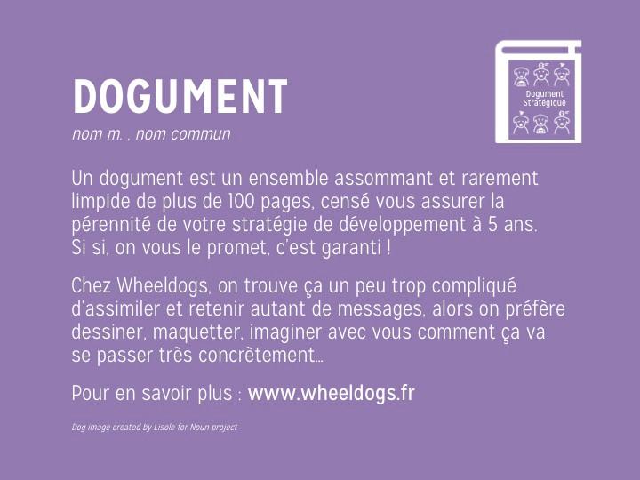 Wheeldogs : le document powerpoint interminables et illisibles