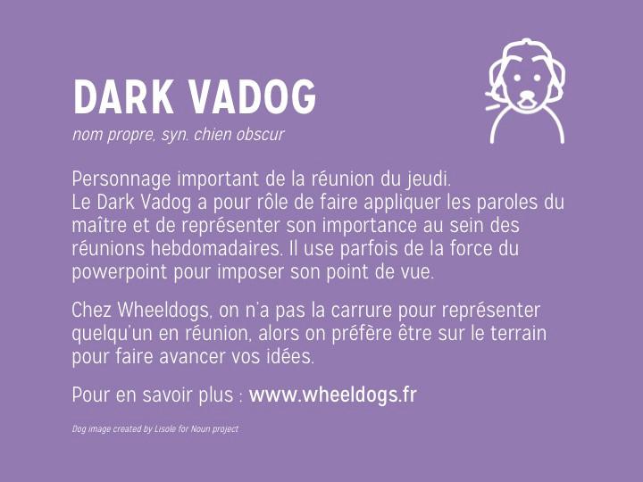 Wheeldogs et les consultants en réunion