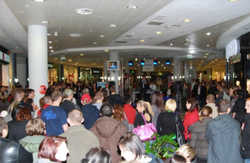 event w centrum handlowym