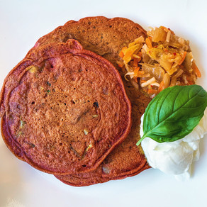Indian Turmeric Vegetable Pancakes (Paleo, Gluten-Free)