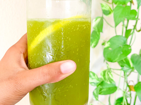 Sparkling Matcha Lemonade
