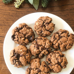 Chocolate Cherry Coconut Cookies (Gluten-Free, Paleo)