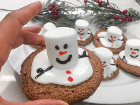 Melting Snowman Cookies (Gluten-Free)