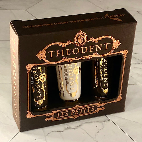 """Theodent Family Pack - """"Les Petits"""" Luxury Non-Toxic Toothpaste"""
