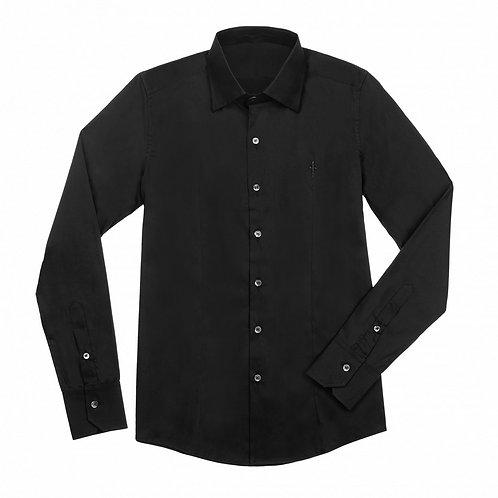 Cesare Paciotti Black Classic Shirt