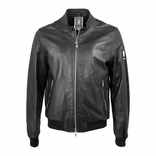 Cesare Paciotti Bomber Leather Jacket