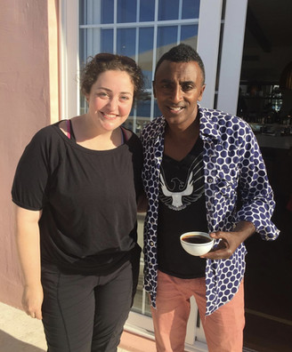 Eliese Lissner and Marcus Samuelson