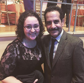 Eliese Lissner with Tony Shaloub