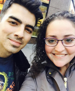 Eliese Lissner with Joe Jonas