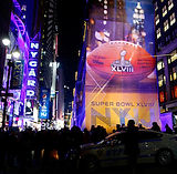 Eliese Lissner's work with the 2014 Superbowl Media Event