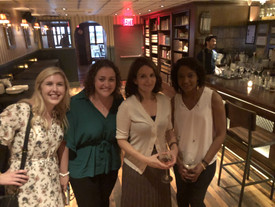 Eliese Lissner with Tina Fey