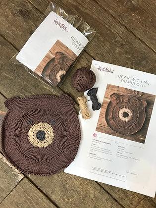 Bear Dishcloth Kit