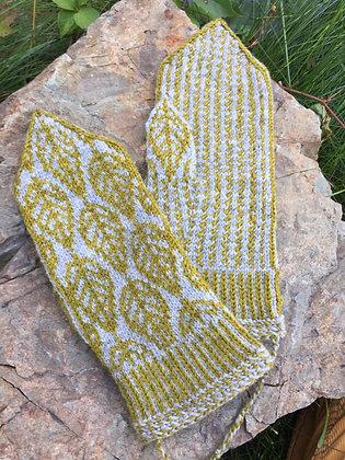 Autumn Leaves Mitten Kit