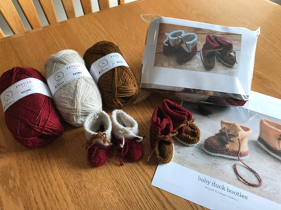 Baby Duck Bootie and Boundary Waters Baby Mukluks