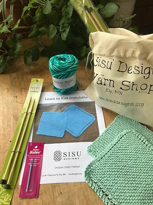 Learn to Knit Kit - with needles