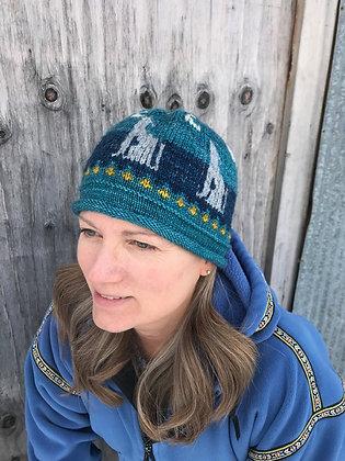 Winter Wolf Hat