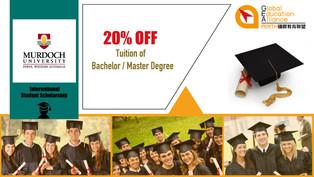 Murdoch University 20% Scholarship