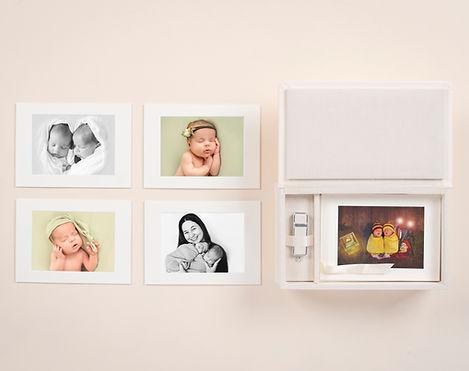 Foliobox plus mounted prints and USB.jpg