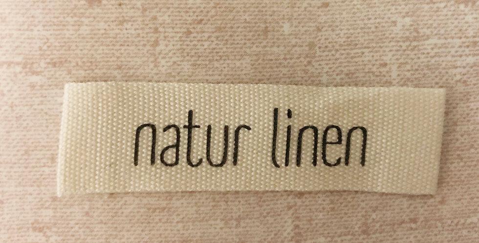 Etiquetas estampadas de ropa