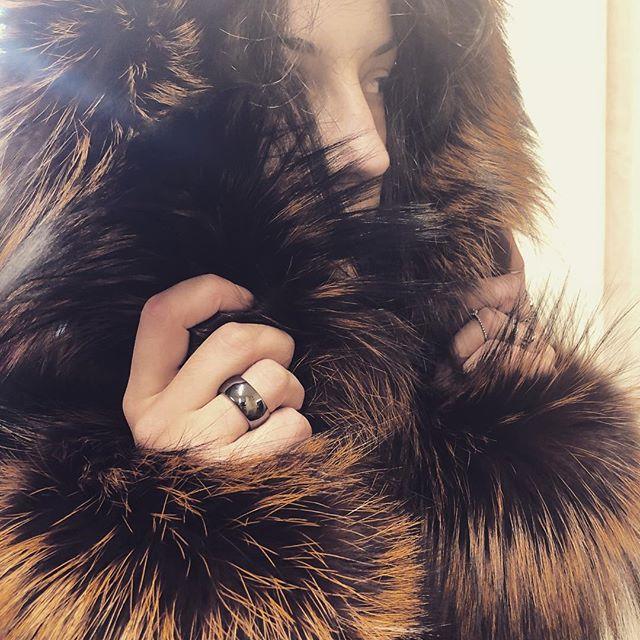 abrigo de piel peluche