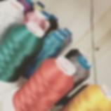bordados con hilos de poliester