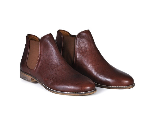 The Ronan | Cognac Chelsea Boots