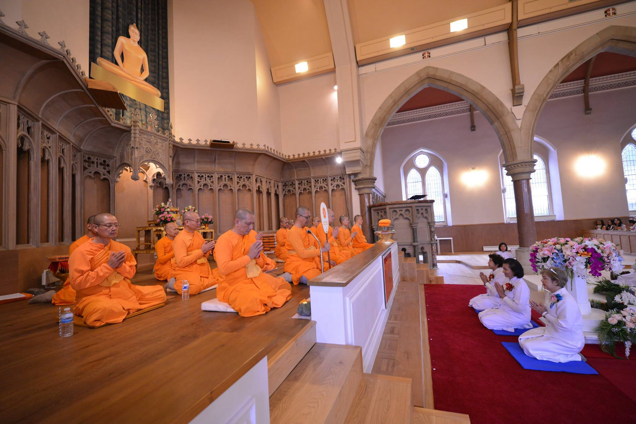 Kathina Monastic ceremony