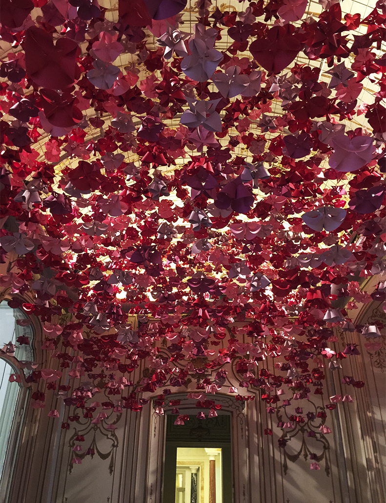 LOUIS VUITTON PAPER INSTALLATION