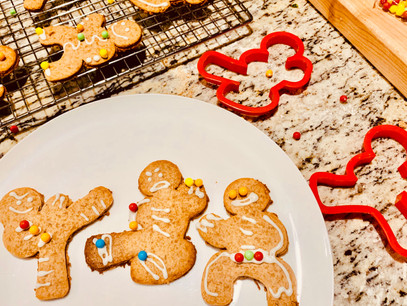 Strikingly Tasty Gingerbread Ninja Cookies