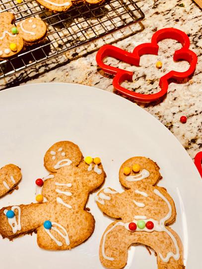Strikingly Tasty Gingerbread Ninja Cookies