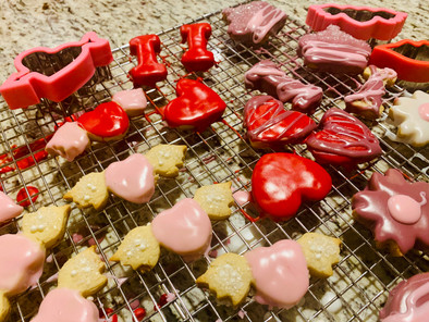 Heart-Made at Home for Valentine's Day