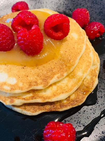 Upgrade to Brunch-Worthy Lemon Pancakes