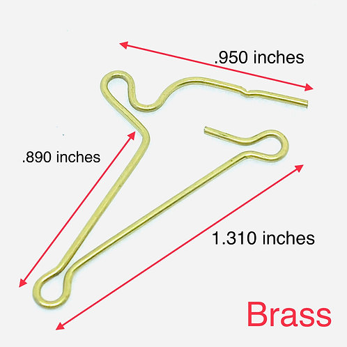 .035 inches wire diameter, .155 inches loop OD, 1.525 inches length