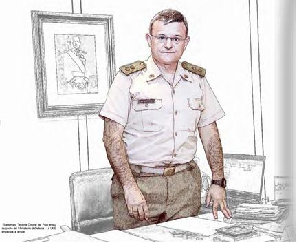 Teniente Coronel Fernando López del Pozo