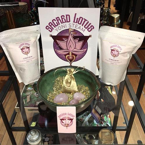 Sacred Lotus Yoni Steam
