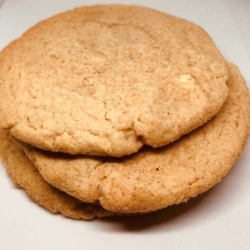 4 Pack of White Chocolate Snickerdoodle Cookies