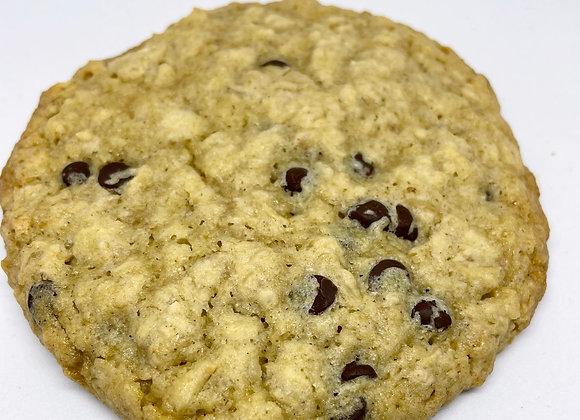 Vegan & Gluten Free Oatmeal Chocolate Chip