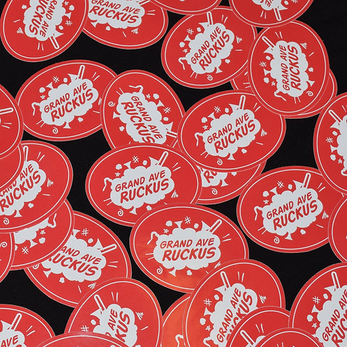 GAR Logo Sticker
