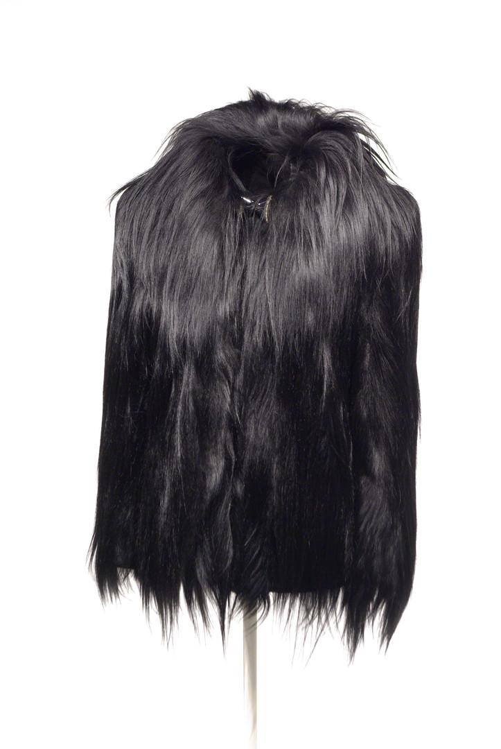 Colobus Monkey Fur Coat, American, c. 1940