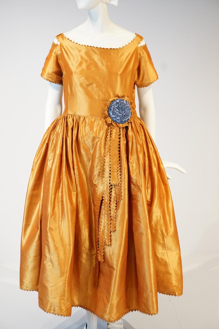 Silk Taffeta Dress by Jeanne Lanvin, Paris, Winter 1920-1921