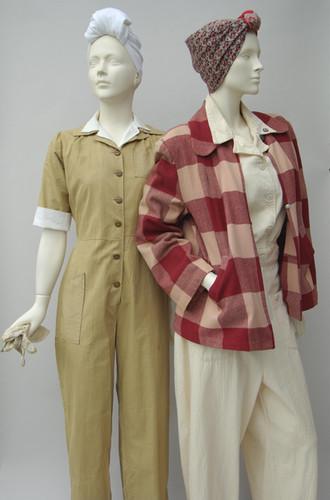 WARdrobe: Fashion and World War II