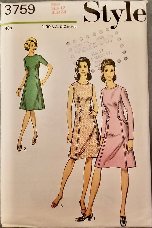 1972 Style Pattern #3759
