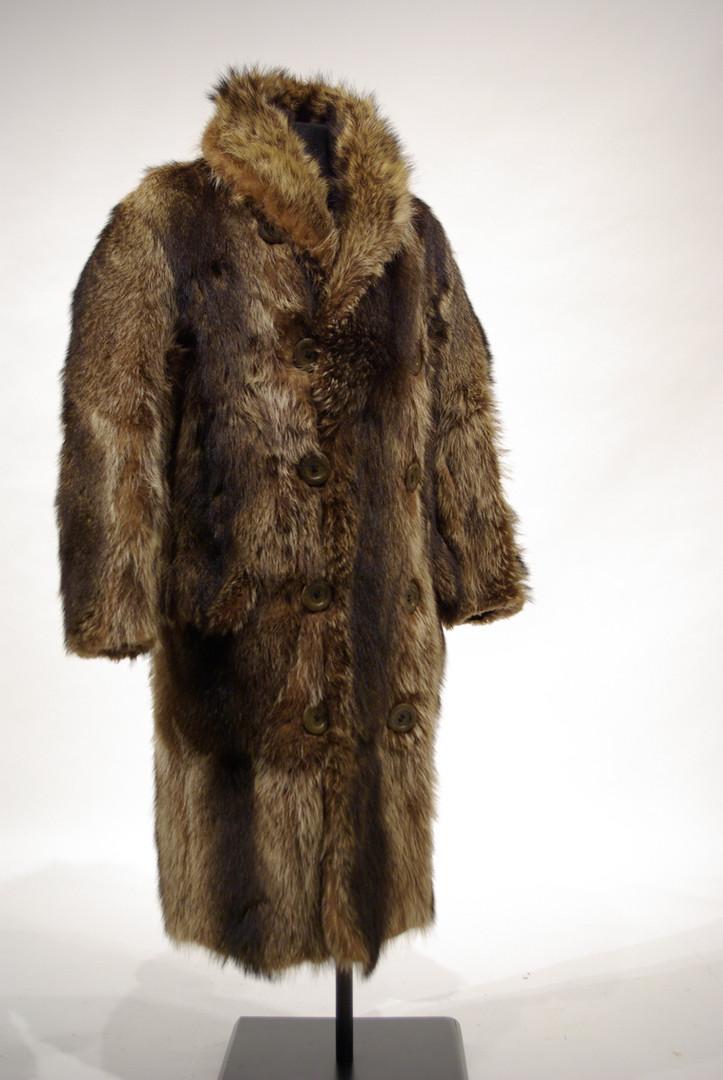 Man's Raccoon Coat by Holt Renfrew, Canadian, c. 1920s