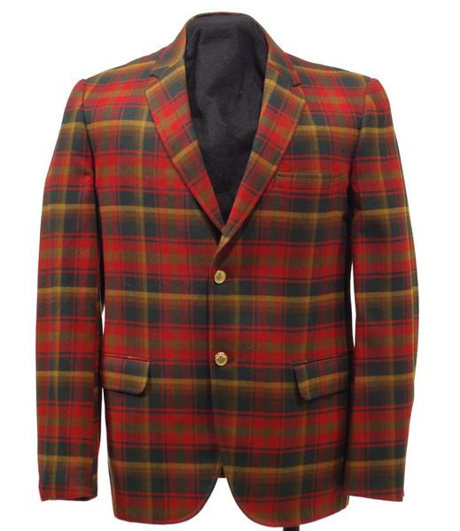Wool Jacket in Maple Leaf Tartan, mid 1960s