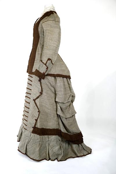 Wool Dress, c. 1876